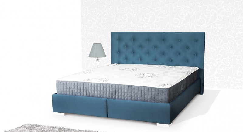 TANYA upholstered bed & headboard
