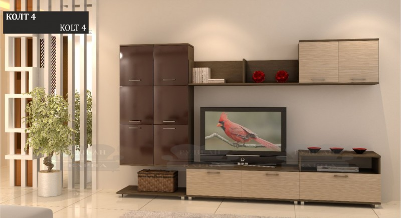 Modular wall unit KOLT-4