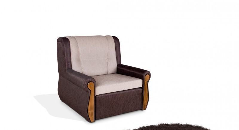 Extendable armchair ALBENA