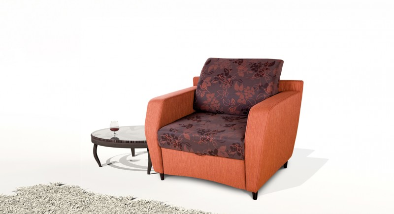 Extendable armchair FLAMINGO