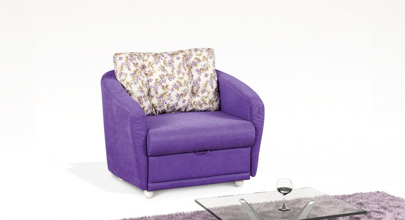 Extendable armchair VALENSIA