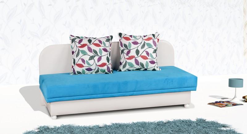 A single bed & backboard