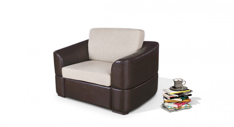 Extendable armchair BOLGNA