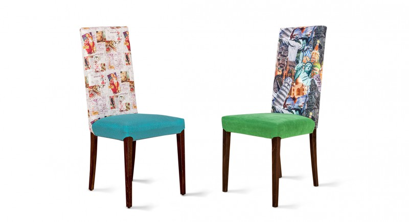 Upholstered chair RODI