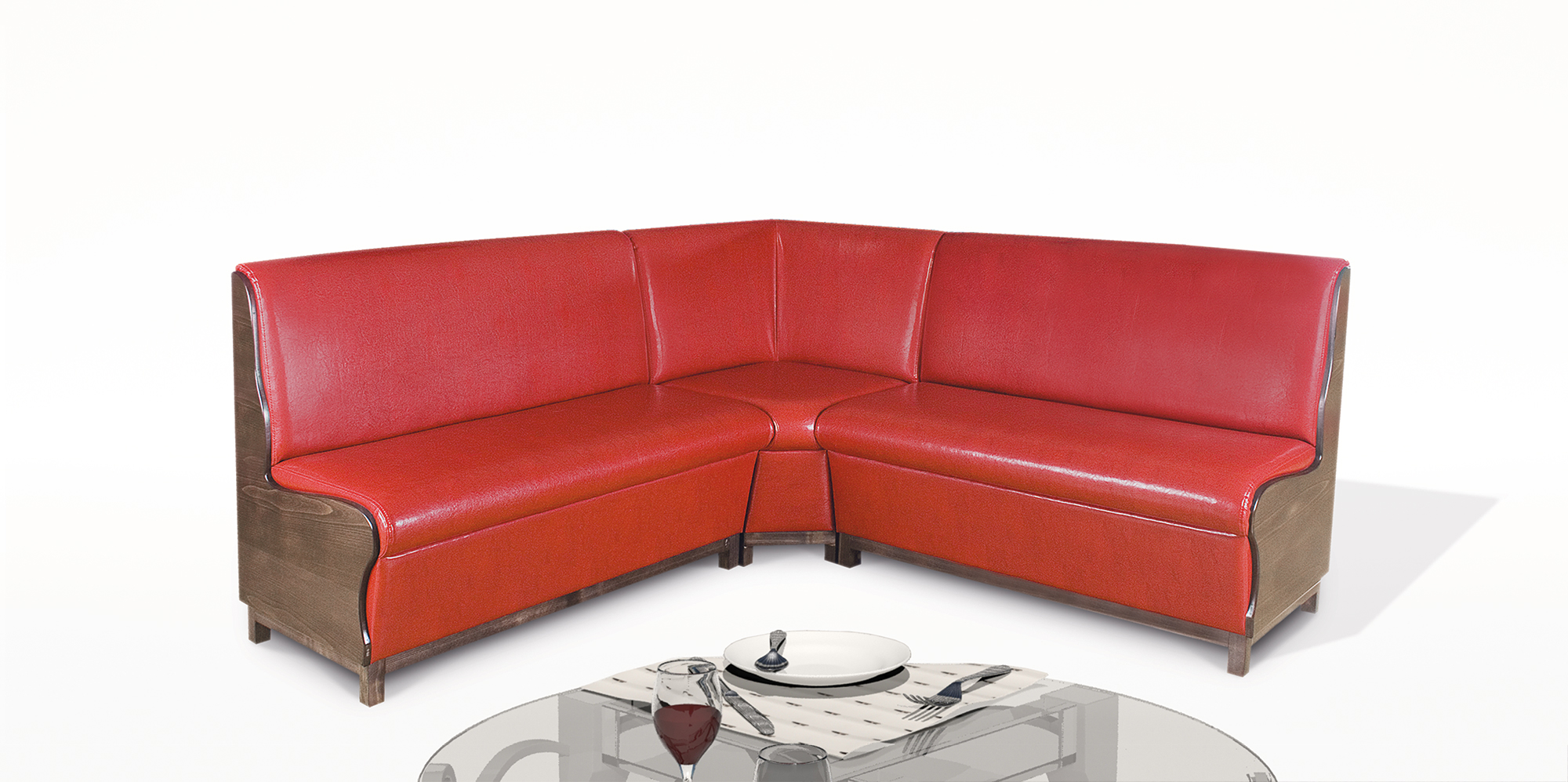 modular sofa system restaurant corner sofas by rudi an. Black Bedroom Furniture Sets. Home Design Ideas