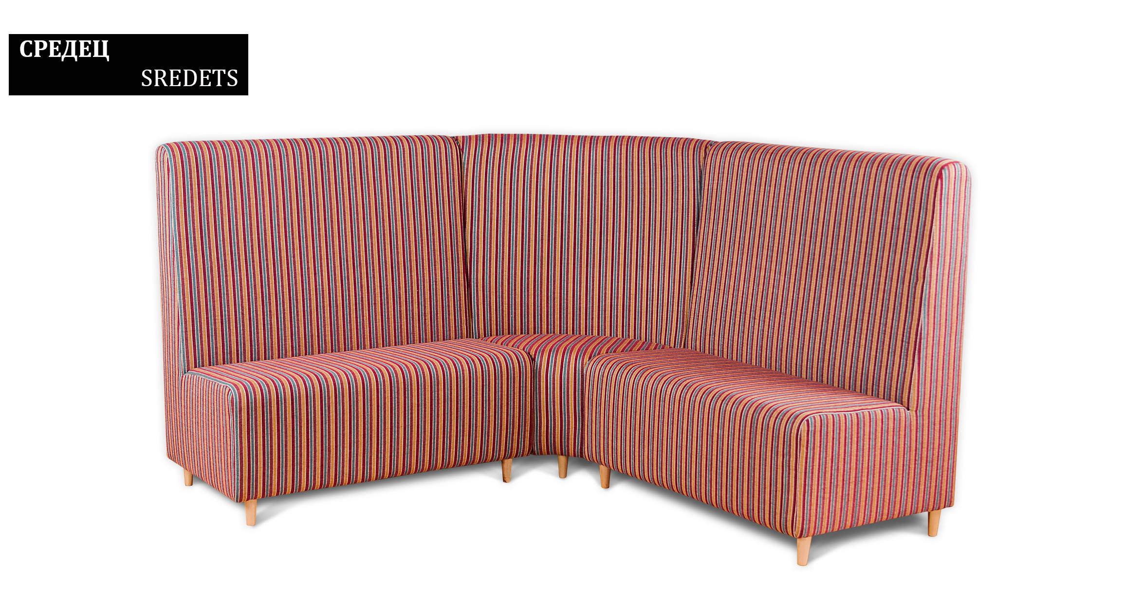dinner booth sredets standard sofas by rudi an. Black Bedroom Furniture Sets. Home Design Ideas